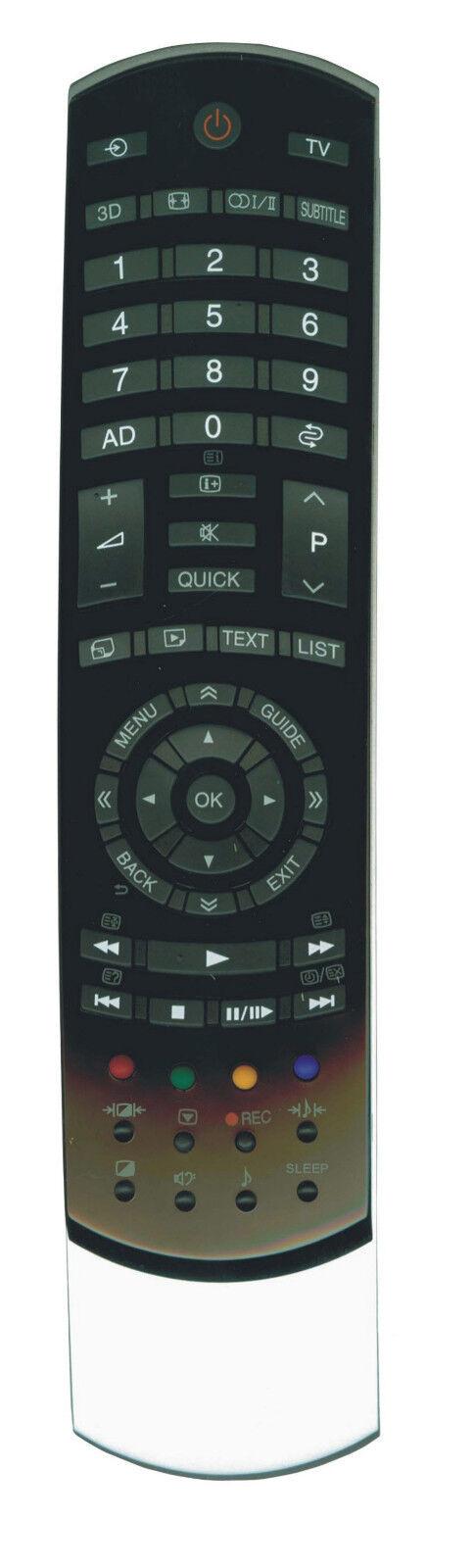 Ersatz Fernbedienung für Toshiba 40RL93340RL93840RL938F40RL938G