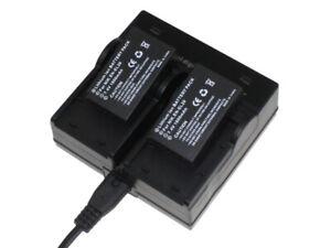 Dual-Charger-2x-Battery-EN-EL20-EN-EL20a-for-Nikon-1-COOLPIX-A-AW1-J1-J2-J3-S1