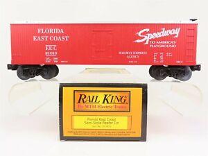 O-Scale-MTH-30-7812-FEC-Florida-East-Coast-Railway-Express-Agency-Box-Car-21019