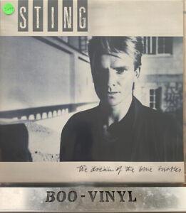 STING-Dream-Of-The-Blue-Turtles-A-amp-M-Lyric-Insert-amp-Inner-UK-VINYL-LP-EX-CON