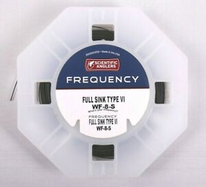 Scientific-Anglers-Frequency-Full-Sink-Type-VI-WF8S-Fly-Line-NO-BOX-SALE