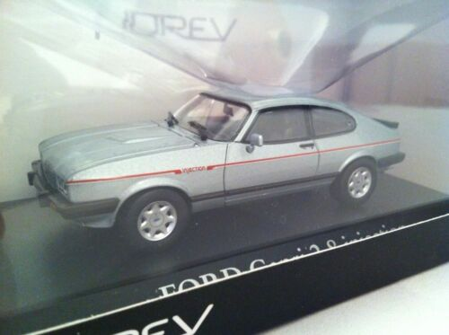 NOREV 270561 FORD CAPRI 2.8 INJECTION model road car Artic blue 1984 1:43 scale