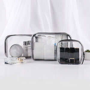 Set-of-4PCS-Cosmetic-Makeup-Toiletry-Clear-PVC-Travel-Wash-Bag-Holder-Pouch-Kit