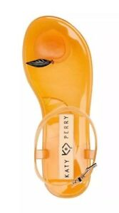 afa5654e191 Katy Perry The Geli Peach Sandals Jellies Jelly Shoes Women Size 5 ...