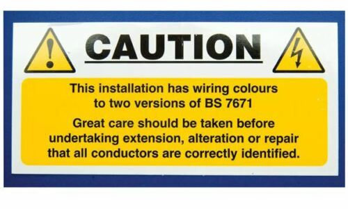 Mixed Cable Notice IS5810SA
