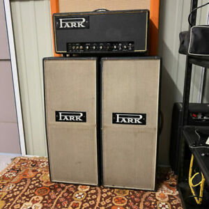 Vintage 1967 1968 Park Marshall 50 Plexi Amplifier with Columns