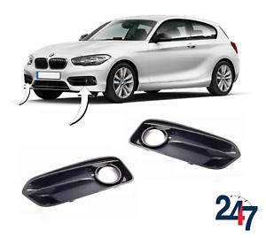 NEW-BMW-1-SERIES-F20-F21-LCI-FRONT-BUMPER-SPORT-FOG-LIGHT-GRILL-COVER-PAIR-SET