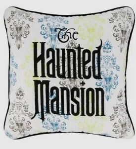 ONE-Disney-Parks-The-Haunted-Mansion-Throw-Pillow-Brand-New