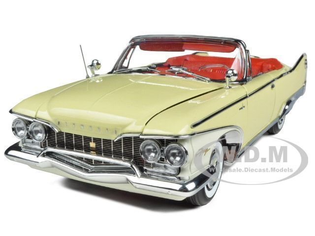 1960 PLYMOUTH FURY OPEN CONgreenIBLE BUTTERCUP YELLOW 1 18 BY SUNSTAR 5401