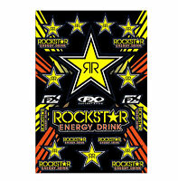 Rockstar Graphics Sticker Kit Fits Suzuki Dirt Bikes Motorcycle