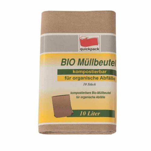 Kompostierbare Bio Müllbeutel für Abfälle 10 Stück 10L NEU//OVP !!!