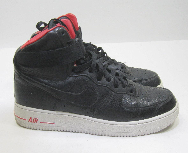 Nike hohe air force 1 hohe Nike prämie lebron james schwarz - weiß - 386161-009 größe 8 099ba9