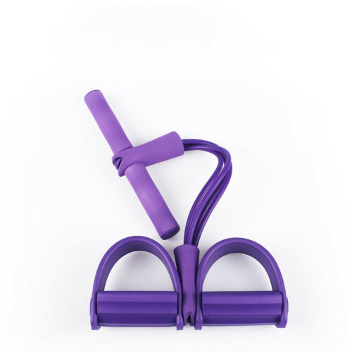 Exercise Yoga Indoor Pedal Ankle Puller Four-strand Resistance Bands Pull Rope