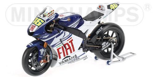 Yamaha YZR M1 2007 V.Rossi Fiat Yamaha Team 122073046 1/12 Minichamps