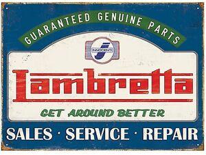 Lambretta-Genuine-Parts-metal-sign-410mm-x-300mm-rh