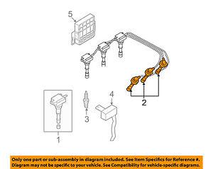 spark plug wiring diagram hyundai oem 03 06 santa fe ignition spark plug wire or set see spark plug wiring diagram for 1998 ford f150 4.6 liter engine santa fe ignition spark plug wire