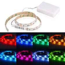 4.5V Battery Operated 50CM RGB LED Strip Light Waterproof Craft Hobby Light US