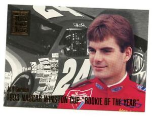 Details About 1994 Maxx Jeff Gordon Rookie Of The Year Nascar Card 16