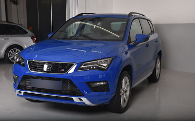SEAT ATECA 5door SUV 2016-up 4pc wind deflectors HEKO TINTED new