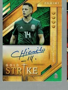 2019-20 Panini Gold Standard Javier Hernandez Gold Strike Auto Autograph (KD)