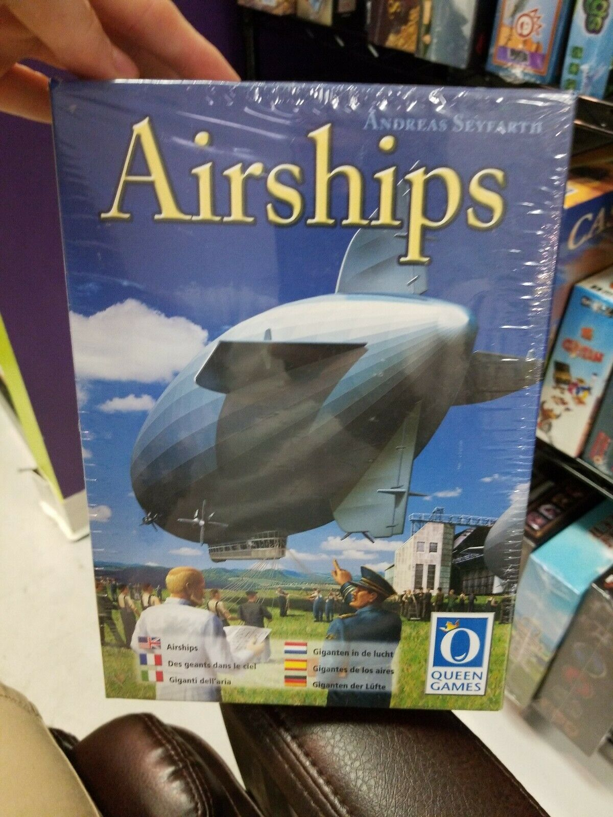 Airships Board Game - NEW SEALED