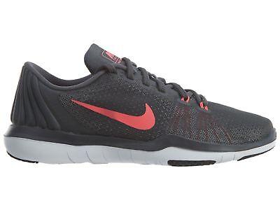 7bd0b046537ca Nike Flex Supreme TR 5 Wide Women s Training Shoes Dark Grey Punch 885916  003