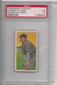 1909-T206-CHARLEY-O-039-LEARY-KNEE-PSA-3-SWEET-CAPORAL-350-460-FACTORY-42-OVERPRINT