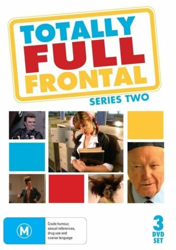 1 of 1 - TOTALLY FULL FRONTAL - SERIES 2 (3 DVD SET) BRAND NEW!!! SEALED!!!