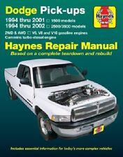 Haynes Repair Manual 30041 Dodge Pick-ups 1994 Thru 2001