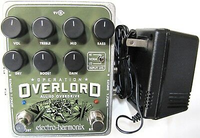 Used Electro-Harmonix EHX Operation Overlord Allied Overdrive Effects Pedal