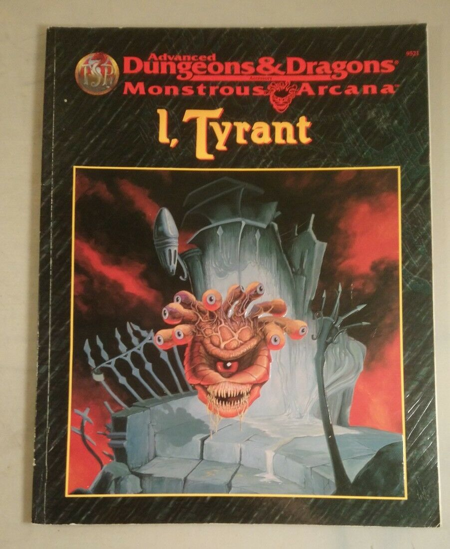 Advanced dungeons and dragons monstrous arcana i tyrant  9521