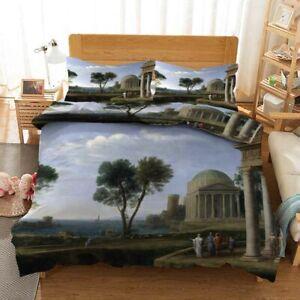 Twilight Trees Sky 3D Printing Duvet Quilt Doona Covers Pillow Case Bedding Sets