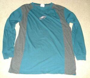 f1b96cd1 NFL Brand Long Sleeve V-Neck T-Shirt Philadelphia Eagles Size Medium ...