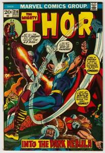 Thor-214-Marvel-Comics-1973-VF-8-5-Original-Owner-Copy