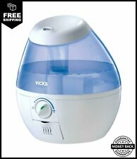 Crane Cool Mist Humidifier, Filter Free, Top Fill, 1.2