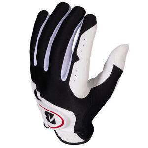 Bridgestone-Men-039-s-EZ-Fit-White-Golf-Gloves-3-Pack-NEW