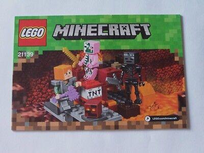 Lego® Bauanleitung Instruction Nr 21139 üBerlegene Leistung