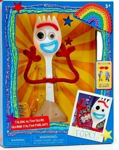 Disney Toy Story 4 Forky Talking Action Figure Toy Detector 19cm