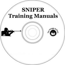 Sniper Training Manual Collection on CD - Army, Navy Seals, Special Forces