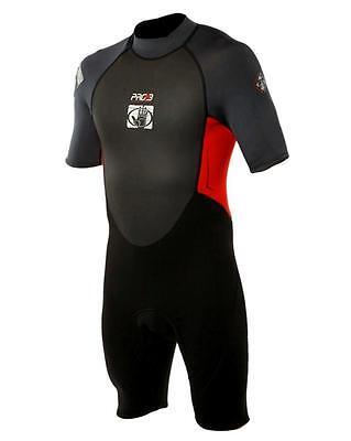 Nass- & Trockenanzüge Body Glove Pro3 Neoprenanzug 2/1mm Black/red Men Shorty Surfanzug Kiteanzug SchnäPpchenverkauf Zum Jahresende