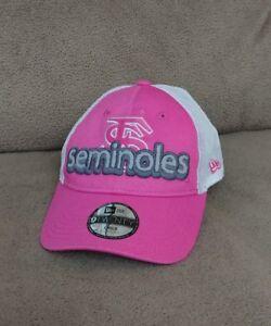 1696268b852 Image is loading Florida-State-Seminoles-Girls-Pink-Adjustable-Cap-Child-