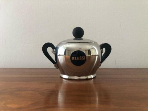 Alessi Zuckerdose Bombe - neuwertig aus Vitrine