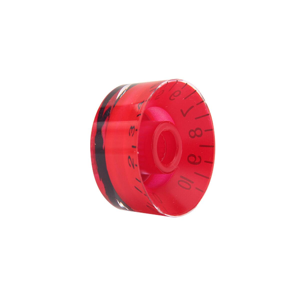 4 pcs volume tone guitar speed knobs knob with black che guevara mark red 634458584609 ebay. Black Bedroom Furniture Sets. Home Design Ideas