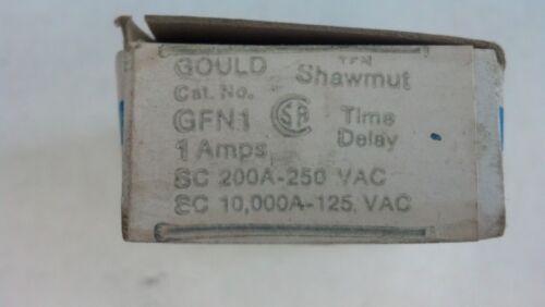 Gould Shawmut GFN1 1 amp fuses New box of 10