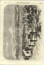1868 Chassepot Rifle Instruction Camp Of St Maur Vincennes