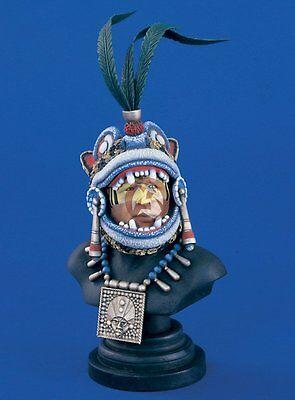Verlinden 200mm 1/9 Mixtec Warlord Mesoamerican Warrior Bust [Resin Figure] 981
