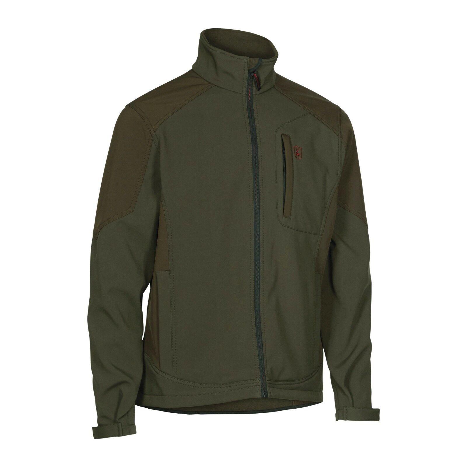 Deerhunter Rogaland  Softshell Jacket verde país Tiro De Caza  mejor calidad mejor precio