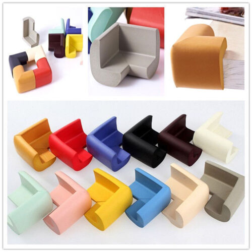 Table Corner Edge Protector Guard For Baby Toddler Child Safety Soft Rubber