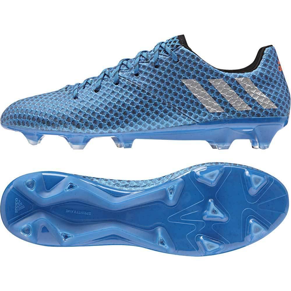 Adidas Messi 16.1 FG Botines de hombre Talla EE. UU. 11.5 Reino Unido 11 Azul AQ3109