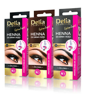 Delia-Cosmetics-Henna-Eyebrow-Gel-Colour-Brown-Grey-Black-15ml-NEW